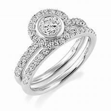 berry s platinum set gia diamond cluster ring matching wedding band