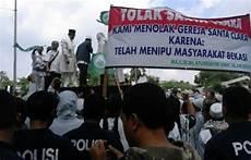 Ormas Islam Kembali Demo Di Gereja St Clara Bekasi