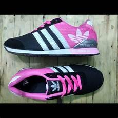 jual sepatu adidas neo v racer for sepatu casual pink hitam di lapak ezdeka store 354
