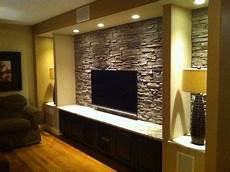 stone tv wall design ideas pictures remodel and decor
