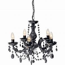 buy collection inspire chandelier 5 light ceiling fitting blk at argos co uk your online