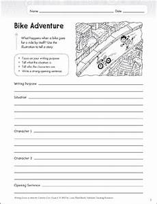 composition worksheets for grade 6 22713 bike adventure grade 6 narrative writing lesson printable assessment tools and checklists