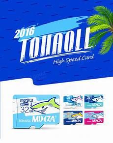 Mixza Shark Edition Memory Card 64gb by Mixza Shark Edition Memory Card 64gb Micro Sd Card Class10