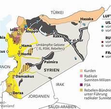 Naher Osten Wer Ist Wer Und Wer Will Was Im Syrien Krieg