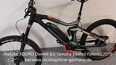 haibike xduro dwnhll 8 0 yamaha pw x elektro fahrrad 2019