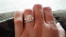 gabriel co wedding bands are made to match the engagement ring yet they can be mixed and