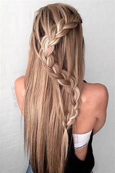 68 stunning prom hairstyles for long hair for 2019 68 stunning prom hairstyles for long hair for 2020 trenzas para cabello largo peinados con