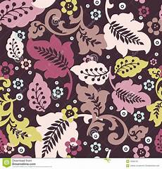 Stoff Mit Ausgefallenem Blumenmuster - fancy floral pattern stock vector illustration of floral