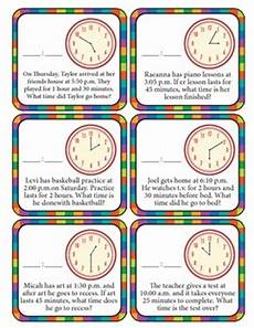 end time word problems worksheets 3410 elapsed time clock word problems by is my jam tpt