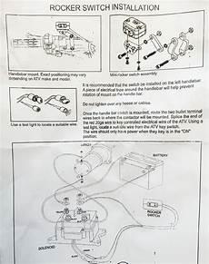 gorilla atv winch wiring schematics atv handle bar replacement winch mini rocker switch waterproof winches ebay
