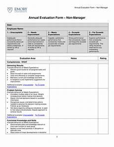 9 employee evaluation form exles pdf exles