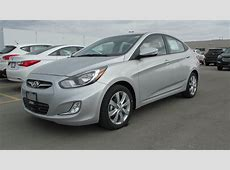 2013 Hyundai Accent GLS AUTO Start up, Walkaround and