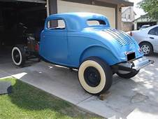 1933 Ford ORIGINAL Henry Steel Body 3 Window Coupe