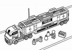 car transporter lego truck coloring pages best