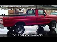 wa ford 1976 ford f250 f 250 4x4 high boy for sale in longview