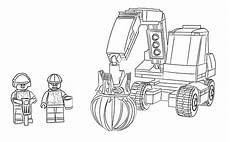 Malvorlagen Lego 60075 Excavator And Truck Coloring Pages Lego 174 City