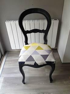 relooker une chaise relooking d une chaise le temps de cr 233 er