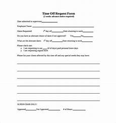 free 23 sle time off request forms in pdf ms word