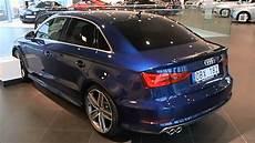 audi a3 bleu 2014 audi a3 sedan scuba blue walkaround