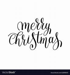merry christmas pictures black and white merry christmas black and white handwritten vector image