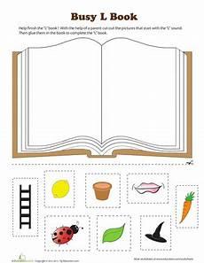 letter l worksheets cut and paste 23203 l book teaching the ones preschool letters phonics activities preschool phonics