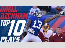 Odell Beckham Jr.'s Top 10 Plays of the 2016 Season   New