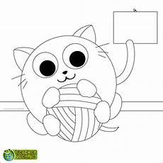Lustige Ausmalbilder Katzen Malvorlage Katze Spielen