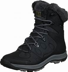 wolfskin thunder bay texapore w winter boots black