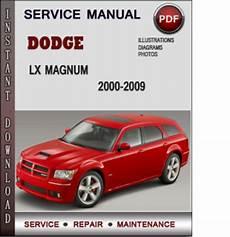 service manuals schematics 2008 dodge magnum user handbook dodge lx magnum 2000 2009 factory service repair manual pdf downl