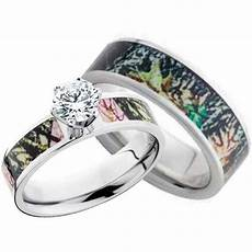camo wedding rings for him camo wedding ring sets for him and