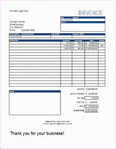 word 2007 receipt template 8 excel 2007 invoice template free