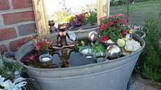 Zinkwanne Miniteich Garden Miniteich Garten Und