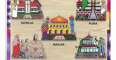 6 Agama Di Indonesia Dan Tempat Ibadahnya Mujahidin Waru