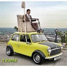 Mr Bean Rides Again On My Mini Mr Beanmobile Mini