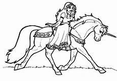 Malvorlagen Prinzessin Mit Einhorn Ride Animal Unicorn Coloring Page Coloring Sky