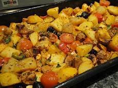 Ofengemüse Mit Kartoffeln - mediterranes ofengem 252 se mit halloumi wranarol