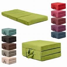 futon portatile fold out guest mattress foam bed single sizes