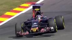 Carlos Sainz Terrible Crash At Spa 2016 Belgium Gp F1 Toro
