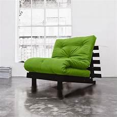 poltrona letto futon poltrona letto futon roots karup in legno wenge