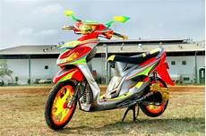 Airbrush Mio Sporty by Modifikasi Motor Airbrush Mio Variasi Motor Mobil Terbaru