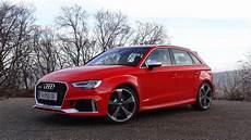 2018 Audi Rs3 Sportback Launch Accelerations