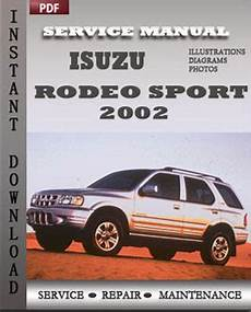 manual repair free 1999 isuzu rodeo parental controls isuzu rodeo sport 2002 service manual download servicerepairmanualdownload com