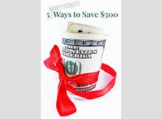 tips for saving money monthly
