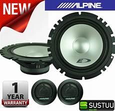 alpine sxe 1750s alpine sxe 1750s 2 way coaxial car audio sound speaker 6