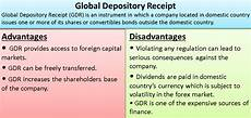 global depository receipts advantages global depository receipt advantages disadvantages exle