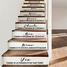 Stairs Stickers Decals Citation Cheris Ta Famille