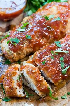 easy oven baked bbq chicken for crust
