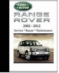 vehicle repair manual 2009 land rover range rover engine control land rover range rover 2008 2009 2010 repair workshop manual car service