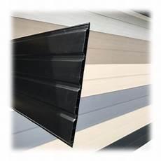 Lambris Pvc Toiture Lambris Pvc De Sous Toiture Noir Planches De 25cmx4ml