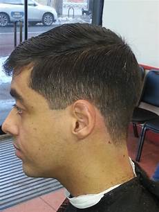 the slightly fade on the sides light trim on the top always sets a trendy cut yelp